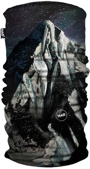 HAD Printed sjaal zwart